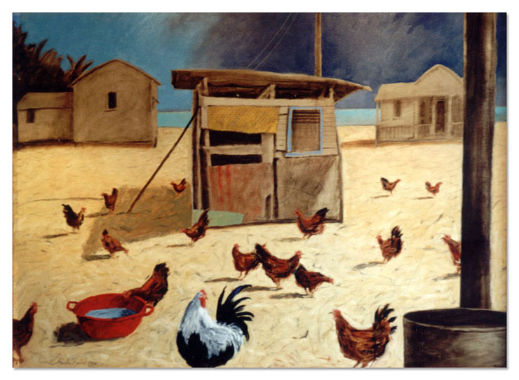 Chickens and Shacks, Caribbean